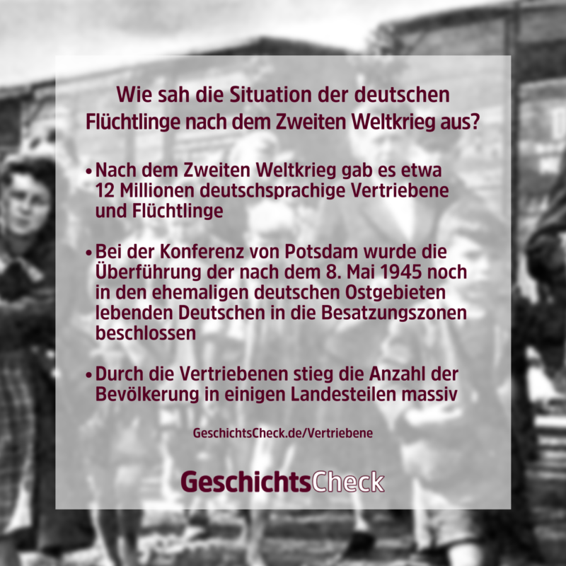 Sudetendeutsche Stiftung, Vertreibung, Crop, Blur, Text von GeschichtsCheck, CC BY-SA 1.0